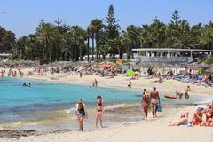 La Chypre - l'Aiya Napa Photo stock