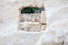 La Chypre : pierres antiques de Kourion Photographie stock