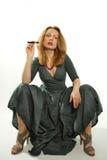 La cigarette électronique Images libres de droits