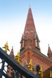 La cima della chiesa a Shanghai Fotografia Stock