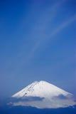 La cima della montagna di Fuji immagini stock libere da diritti