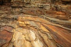 La cima di frana la roccia Fotografia Stock