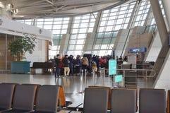 La CIN d'aéroport international d'Incheon à Séoul Photographie stock libre de droits