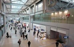La CIN d'aéroport international d'Incheon à Séoul Photos stock