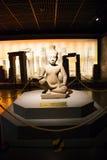 La Cina Asia, Pechino, il museo capitale, reliquie della Kampuchea Angkor e Art Exhibition Fotografia Stock