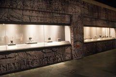La Cina Asia, Pechino, il museo capitale, reliquie della Kampuchea Angkor e Art Exhibition Immagine Stock Libera da Diritti