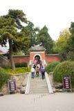 La Cina, Asia, Pechino, il parco fragrante della collina Fotografie Stock