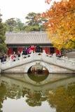 La Cina, Asia, Pechino, il parco fragrante della collina Immagine Stock