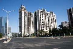 La Cina, Asia, Pechino, zona residenziale di Wangjing Fotografie Stock Libere da Diritti