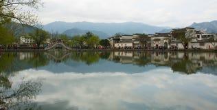 La Cina Città Vecchia Fotografie Stock Libere da Diritti
