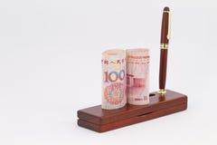 La Cina fa il commercio serio Fotografie Stock Libere da Diritti