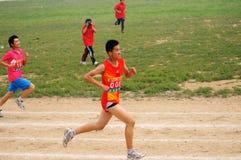 La Cina: Giochi dell'atletica leggera dell'allievo Immagini Stock Libere da Diritti