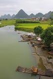 La Cina, Guilin Fotografia Stock Libera da Diritti