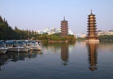 La Cina Guilin Fotografia Stock