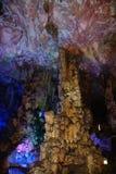 La Cina Guilin, la flauto a lamella - pagode Fotografie Stock