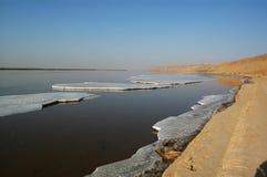 La Cina il fiume Giallo Fotografia Stock Libera da Diritti