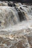 La Cina la cascata del fiume Giallo Hukou Fotografie Stock Libere da Diritti