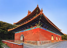 La Cina Nanchino Ming Temple Corner Immagini Stock Libere da Diritti