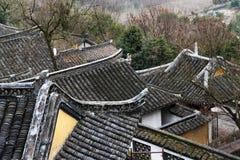 La Cina Nantong Wolf Mountain Natural Scenic Area Immagini Stock Libere da Diritti