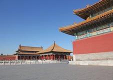 La Cina Pechino Città severa Immagini Stock