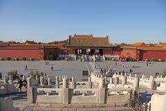 La Cina Pechino Città severa Fotografie Stock Libere da Diritti