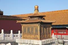 La Cina Pechino Città severa Immagine Stock Libera da Diritti