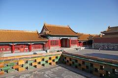 La Cina Pechino Città severa Immagini Stock Libere da Diritti