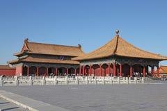 La Cina Pechino Città severa Corridoio di conservazione dell'armonia Fotografia Stock Libera da Diritti