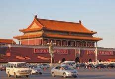 La Cina Pechino Città severa Portone di forza divina Fotografia Stock Libera da Diritti