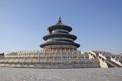 La Cina Pechino Tempiale di cielo Immagine Stock