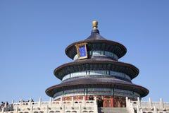 La Cina Pechino Tempiale di cielo Fotografie Stock
