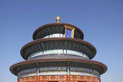 La Cina Pechino Tempiale di cielo particolari Fotografia Stock Libera da Diritti