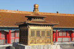 La Cina Pechino Tempio severo Fotografie Stock Libere da Diritti