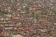 La Cina Qinghai Tatsu Immagini Stock Libere da Diritti