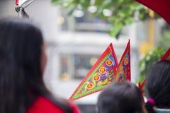 La Cina, religione tradizionale, abitudini, Zhongyuan Purdue, festival di fantasma cinese, sacrifici, fantasmi, sacrifici immagini stock