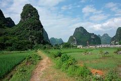 La Cina rurale fotografia stock libera da diritti