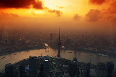 La Cina Schang-Hai Immagine Stock