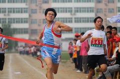 La Cina: sprint Fotografie Stock Libere da Diritti