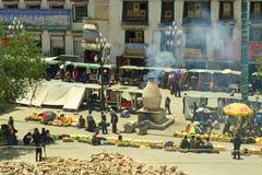 La Cina, Tibet Immagine Stock Libera da Diritti