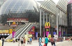 La Cina: via pedonale Immagini Stock