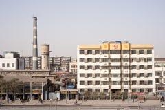 La Cina: Vista della via di Xi'An Fotografia Stock