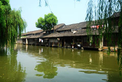 La Cina Wuzhen Fotografie Stock Libere da Diritti