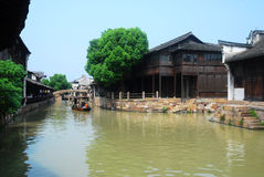 La Cina Wuzhen Fotografie Stock