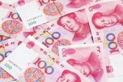 La Cina yuan Fotografia Stock Libera da Diritti