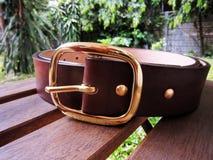 La cinghia di cuoio 01 Fotografia Stock
