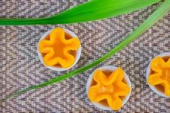 La cinghia tailandese di chiamate del dessert yip fotografia stock