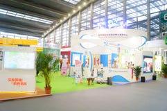 La cinquième exposition d'échange de projet de charité de la Chine Image libre de droits