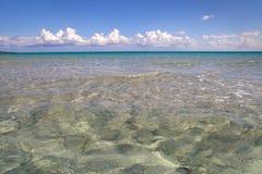 La Cinta海滩  免版税库存图片