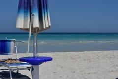 La Cinta beach in San Teodoro, Sardinia royalty free stock photography