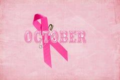 La cinta rosada Foto de archivo libre de regalías